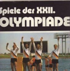 Coleccionismo deportivo: SPIELE DER XXII.OLYMPIADE MOSKAU 1980. Lote 215185465
