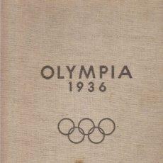 Coleccionismo deportivo: OLYMPIA 1936 (REICHSSPORTVERLAG). Lote 182180110