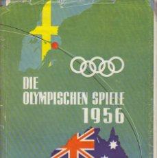 Coleccionismo deportivo: DIE OLYMPISCHE SPIELE 1956 (BERTELSMANN). Lote 182180755