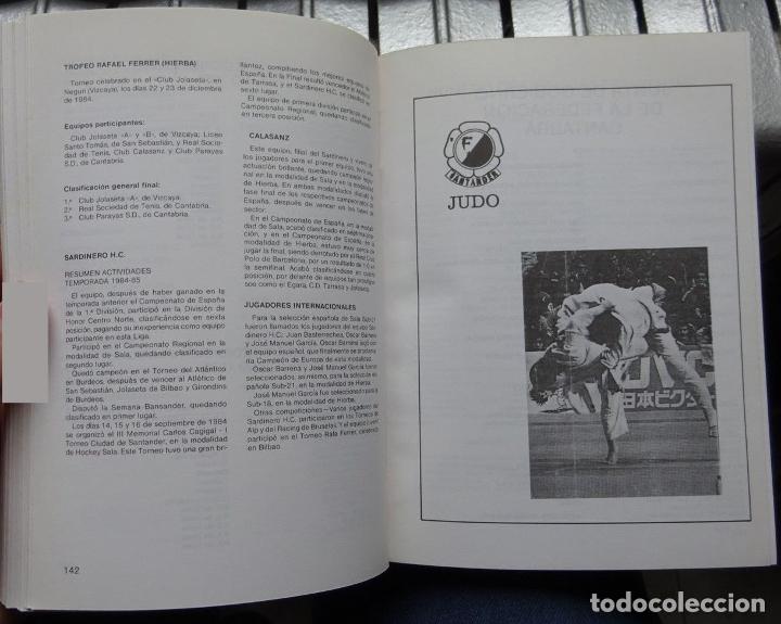 Coleccionismo deportivo: ANUARIO DEPORTIVO 1985 (CANTABRIA) - Foto 2 - 182180940