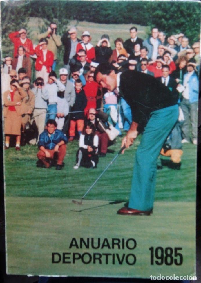 ANUARIO DEPORTIVO 1985 (CANTABRIA) (Coleccionismo Deportivo - Libros de Deportes - Otros)