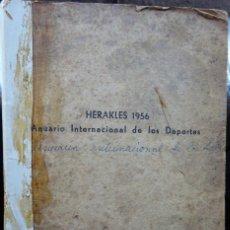 Coleccionismo deportivo: HERAKLES 1956. ANUARIO INTERNACIONAL DE LOS DEPORTES. Lote 182181478