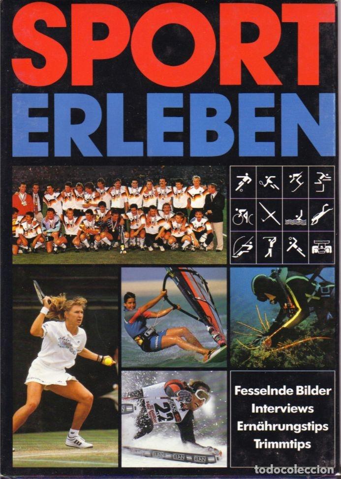 SPORT ERLEBEN'91 (ECHO VERLAGS) (Coleccionismo Deportivo - Libros de Deportes - Otros)