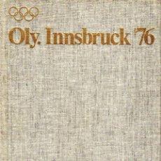 Coleccionismo deportivo: OLY. INNSBRUCK 76. Lote 182182188