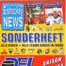 Coleccionismo deportivo: EISHOCKEY NEWS SONDERHEFT 2002-03. Lote 182182436
