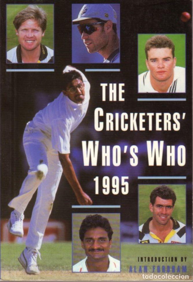 THE CRICKETERS' WHO'S WHO 1995 (Coleccionismo Deportivo - Libros de Deportes - Otros)