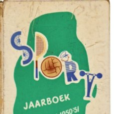 Coleccionismo deportivo: SPORT JAARBOEK SEIZOEN 1950-51. Lote 182182935