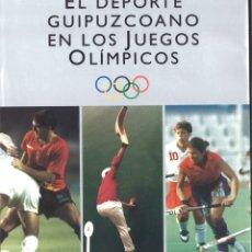 Coleccionismo deportivo: EL DEPORTE GUIPUZCOANO EN LOS JUEGOS OLÍMPICOS. 1992. Lote 182413375