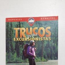 Coleccionismo deportivo: TRUCOS PARA LOS EXCURSIONISTAS. - KAREN BERGER. TDK419. Lote 182885938