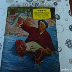 Coleccionismo deportivo: ANUARIO DE LA FEDERACION ESPAÑOLA DE PESCA 1965. Lote 182969198