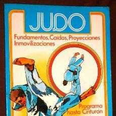 Coleccionismo deportivo: JUDO POR ENRIQUE MORILLO DEL RÍO Y OTROS DE INTEREDICIONES EN MADRID 1983. Lote 183486363