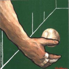 Coleccionismo deportivo: EL DEDO BLANCO DEL PELOTARI. ANDER LETAMENDIA. 1993. Lote 183518362