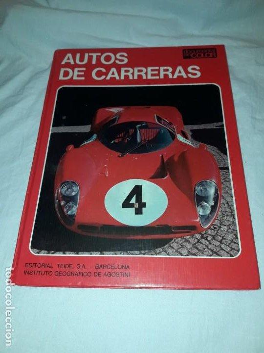 AUTOS DE CARRERAS EDITORIAL TEIDE FERRUCCIO BERNABÓ BARCELONA 1972 (Coleccionismo Deportivo - Libros de Deportes - Otros)