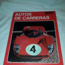 Collectionnisme sportif: AUTOS DE CARRERAS EDITORIAL TEIDE FERRUCCIO BERNABÓ BARCELONA 1972. Lote 183707582