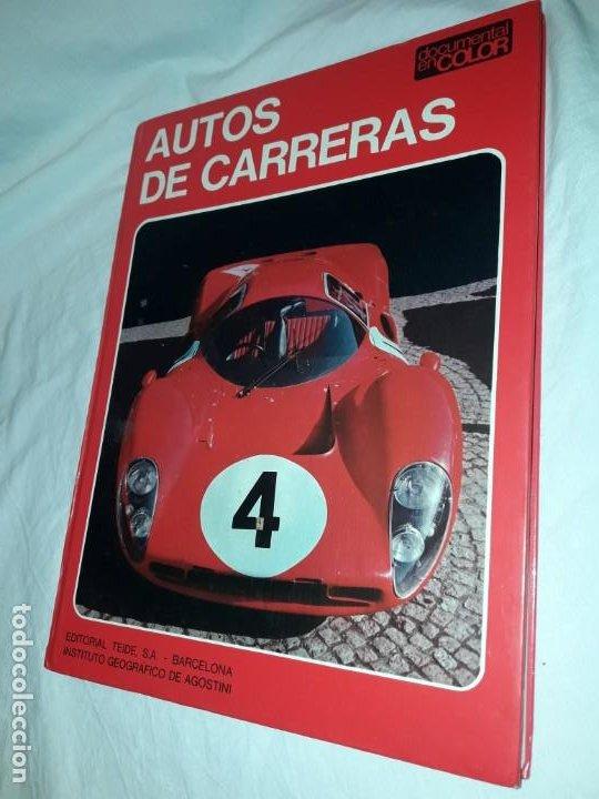 Coleccionismo deportivo: Autos de carreras Editorial Teide Ferruccio Bernabó Barcelona 1972 - Foto 2 - 183707582