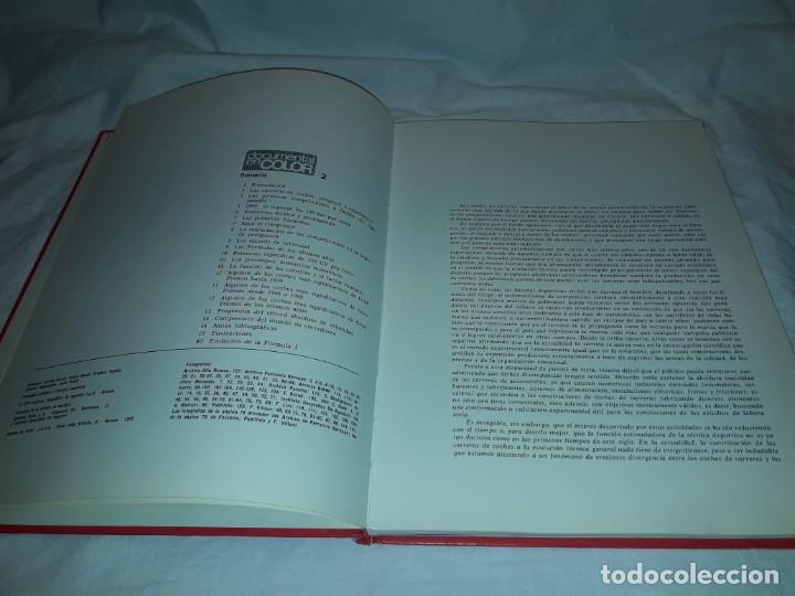 Coleccionismo deportivo: Autos de carreras Editorial Teide Ferruccio Bernabó Barcelona 1972 - Foto 8 - 183707582