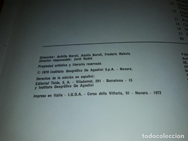 Coleccionismo deportivo: Autos de carreras Editorial Teide Ferruccio Bernabó Barcelona 1972 - Foto 9 - 183707582
