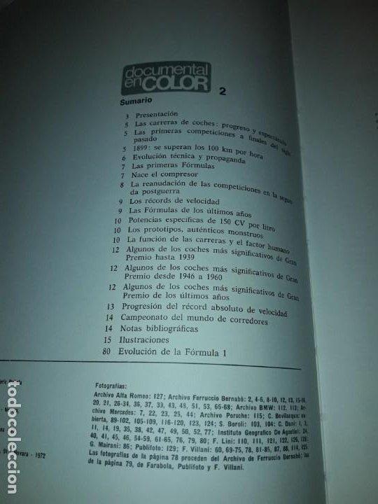 Coleccionismo deportivo: Autos de carreras Editorial Teide Ferruccio Bernabó Barcelona 1972 - Foto 10 - 183707582