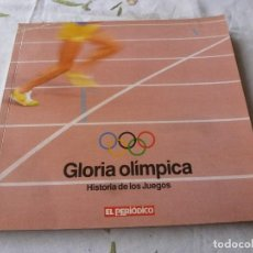 Collezionismo sportivo: (LLL) LIBRO-GLORIA OLIMPICA HISTORIA DE LOS JUEGOS. Lote 186119496