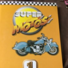 Coleccionismo deportivo: SUPER MOTOS 1 -FICHERO - MOTOS MÍTICAS 60 FICHAS + MOTOR 60 FICHAS - VER DESCRIPCIÓN Y FOTOS -. Lote 187156078
