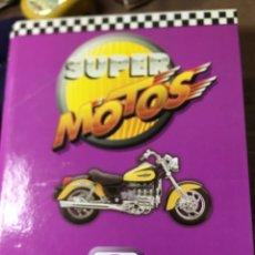 Coleccionismo deportivo: SUPER MOTOS 2 - MODELOS 60 FICHAS + GRANDES MOTOS 58 FICHAS - VER DESCRIPCIÓN Y FOTOS. Lote 187165117
