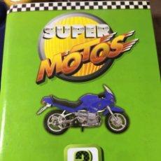 Coleccionismo deportivo: SUPER MOTOS 3 - MODELOS 31 FICHAS + GRANDES CAMPEONES FICHAS - VER DESCRIPCIÓN Y FOTOS. Lote 187165581