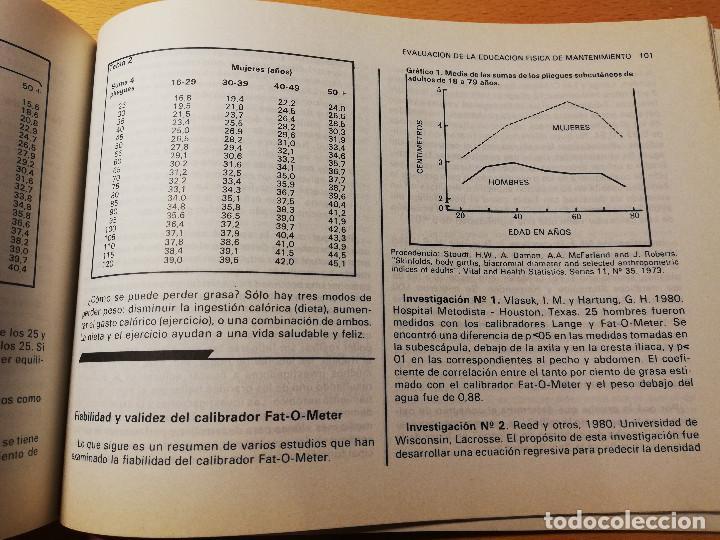 Coleccionismo deportivo: EVALUACIÓN DE LA EDUCACIÓN FÍSICA Y LOS DEPORTES. LOS TESTS DE LABORATORIO AL CAMPO (AUGUSTO PILA) - Foto 6 - 188512846