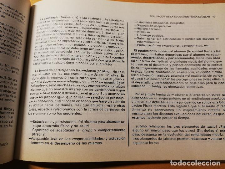 Coleccionismo deportivo: EVALUACIÓN DE LA EDUCACIÓN FÍSICA Y LOS DEPORTES. LOS TESTS DE LABORATORIO AL CAMPO (AUGUSTO PILA) - Foto 8 - 188512846