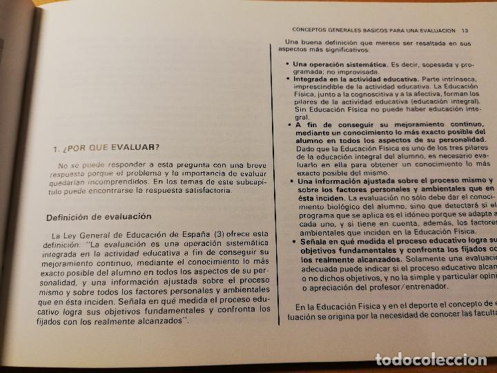Coleccionismo deportivo: EVALUACIÓN DE LA EDUCACIÓN FÍSICA Y LOS DEPORTES. LOS TESTS DE LABORATORIO AL CAMPO (AUGUSTO PILA) - Foto 10 - 188512846