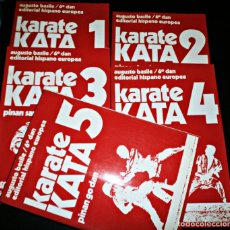 Coleccionismo deportivo: KARATE KATA AUGUSTA BASILE-COLECION COMPLETA 5 LIBROS. Lote 188837690