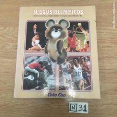 Coleccionismo deportivo: JUEGOS OLÍMPICOS. Lote 191019550