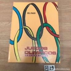 Coleccionismo deportivo: JUEGOS OLÍMPICOS. Lote 191218955