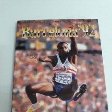 Coleccionismo deportivo: BARCELONA 92,LIBRO OFICIAL EN INGLES. Lote 193091456