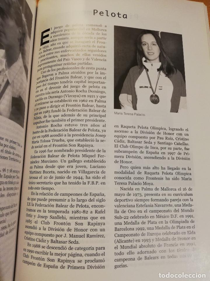Coleccionismo deportivo: 1900 - 2000 CIEN AÑOS DE DEPORTE EN MALLORCA. UN SIGLO DE LEYENDA (CONSELL DE MALLORCA) - Foto 3 - 193237740