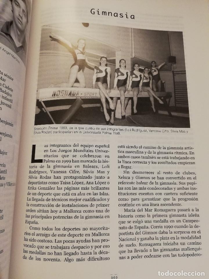 Coleccionismo deportivo: 1900 - 2000 CIEN AÑOS DE DEPORTE EN MALLORCA. UN SIGLO DE LEYENDA (CONSELL DE MALLORCA) - Foto 4 - 193237740