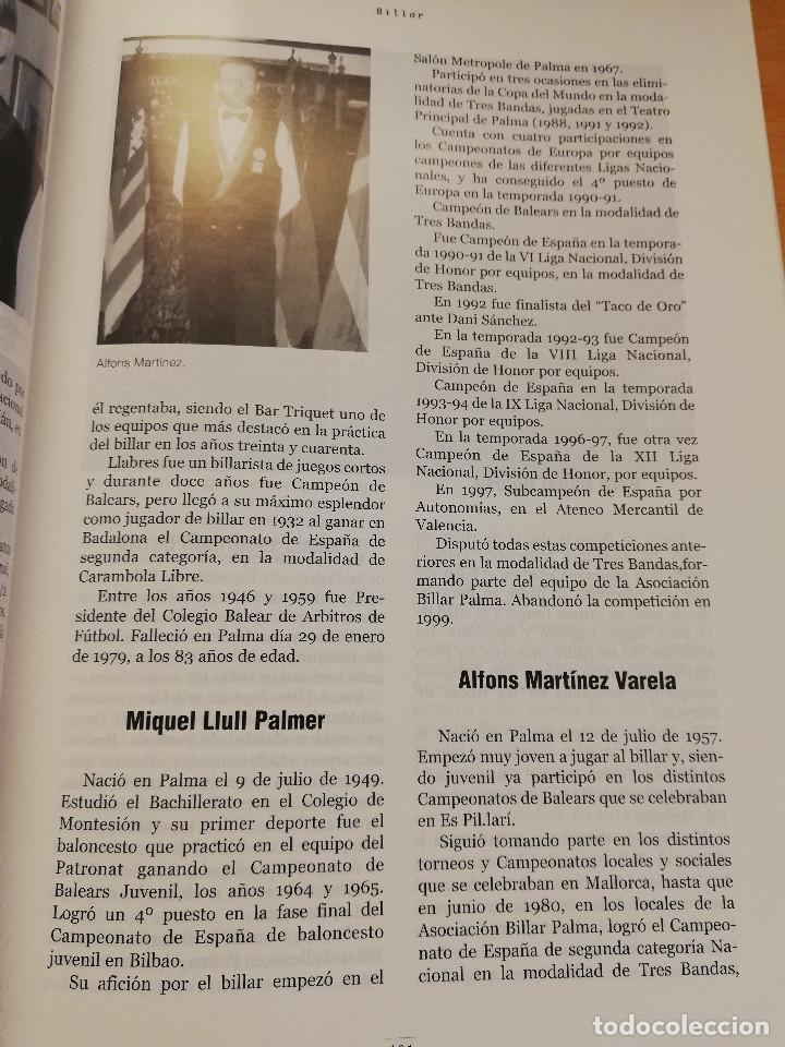 Coleccionismo deportivo: 1900 - 2000 CIEN AÑOS DE DEPORTE EN MALLORCA. UN SIGLO DE LEYENDA (CONSELL DE MALLORCA) - Foto 9 - 193237740
