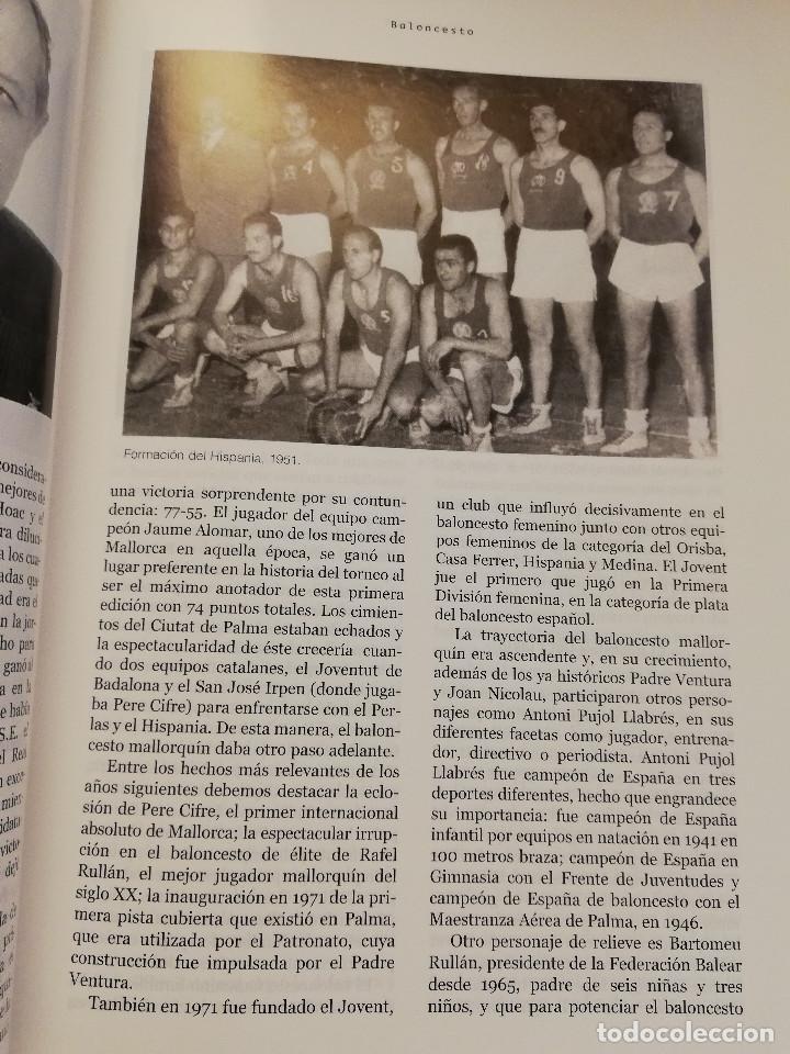 Coleccionismo deportivo: 1900 - 2000 CIEN AÑOS DE DEPORTE EN MALLORCA. UN SIGLO DE LEYENDA (CONSELL DE MALLORCA) - Foto 10 - 193237740