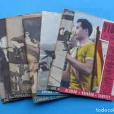 Coleccionismo deportivo: VIDAS SIN CARETA, 9 REVISTAS - AÑOS 1940. Lote 193246526