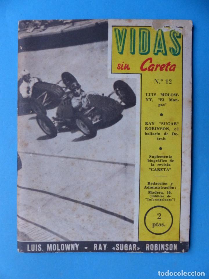 Coleccionismo deportivo: VIDAS SIN CARETA, 9 REVISTAS - AÑOS 1940 - Foto 3 - 193246526