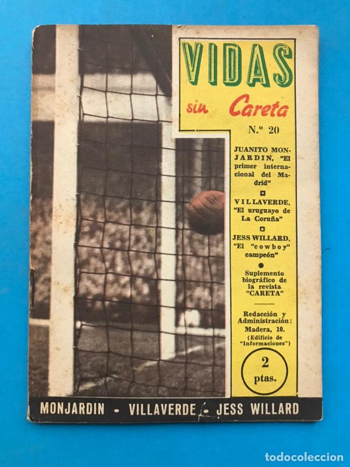 Coleccionismo deportivo: VIDAS SIN CARETA, 9 REVISTAS - AÑOS 1940 - Foto 10 - 193246526