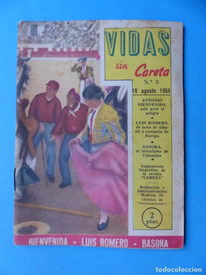 Coleccionismo deportivo: VIDAS SIN CARETA, 9 REVISTAS - AÑOS 1940 - Foto 2 - 193246717
