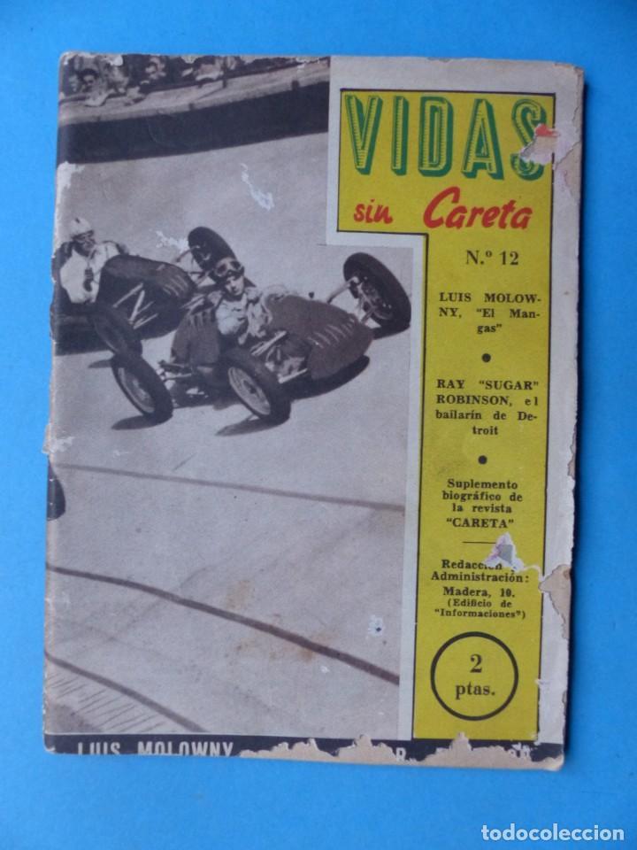Coleccionismo deportivo: VIDAS SIN CARETA, 9 REVISTAS - AÑOS 1940 - Foto 3 - 193246717