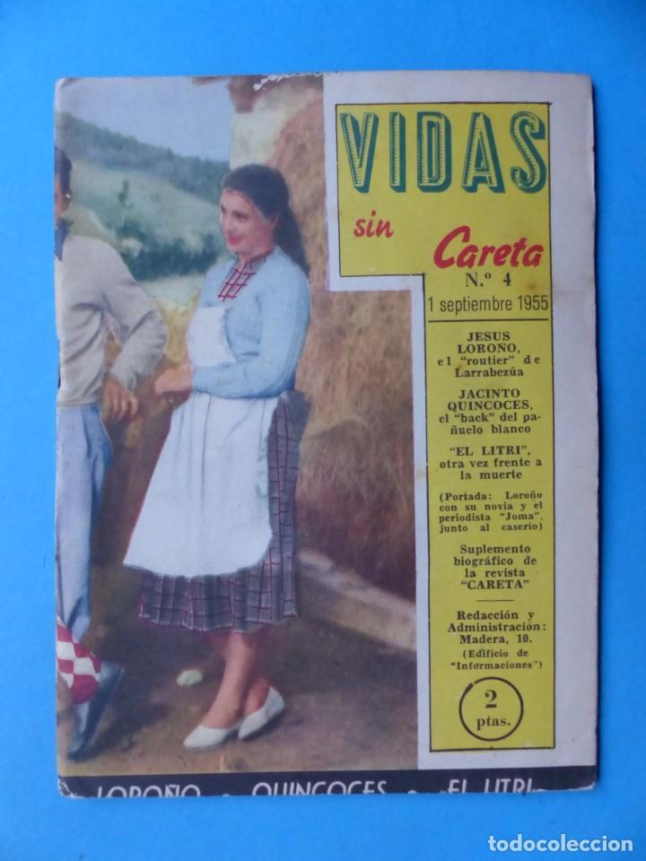 Coleccionismo deportivo: VIDAS SIN CARETA, 9 REVISTAS - AÑOS 1940 - Foto 7 - 193246717