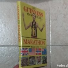 Coleccionismo deportivo: THE BOOK OF THE GUINNESS MARATHON - ROGER GYNN. Lote 194126412