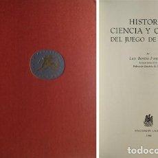 Coleccionismo deportivo: BOMBÍN FERNÁNDEZ, LUIS. HISTORIA, CIENCIA Y CÓDIGO DEL JUEGO DE PELOTA. . Lote 194271071