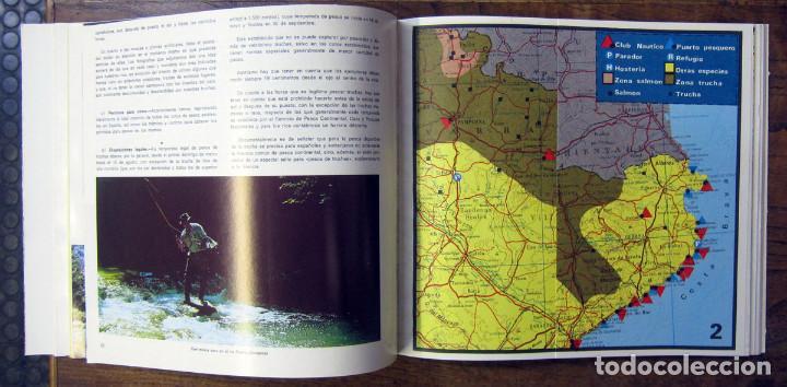Coleccionismo deportivo: GUIA DE PESCA - ESPAÑA - 1968 - CON MAPAS - COTOS - Foto 2 - 194327090
