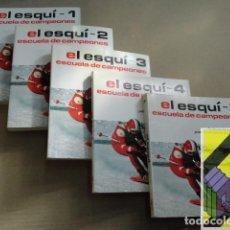 Coleccionismo deportivo: FEDERACION ALEMANA DE ESQUI: EL ESQUÍ. ESCUELA DE CAMPEONES (5 VOLS). (TRAD:PATRICE LANGLOIS). Lote 194597491