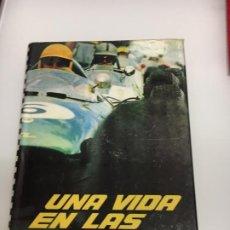 Coleccionismo deportivo: UNA VIDA EN LAS CARRERAS F1 GRAND PRIX LIBRO CANESTRINI + WORLD CHAMPIONS PILOTS. Lote 194619907