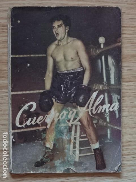CUERPO Y ALMA. EL LIBRO DE LA PELÍCULA. WARWICK MANNON AÑO 1952 BOXEO (Coleccionismo Deportivo - Libros de Deportes - Otros)