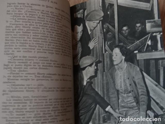 Coleccionismo deportivo: CUERPO Y ALMA. EL LIBRO DE LA PELÍCULA. WARWICK MANNON año 1952 boxeo - Foto 7 - 195127246